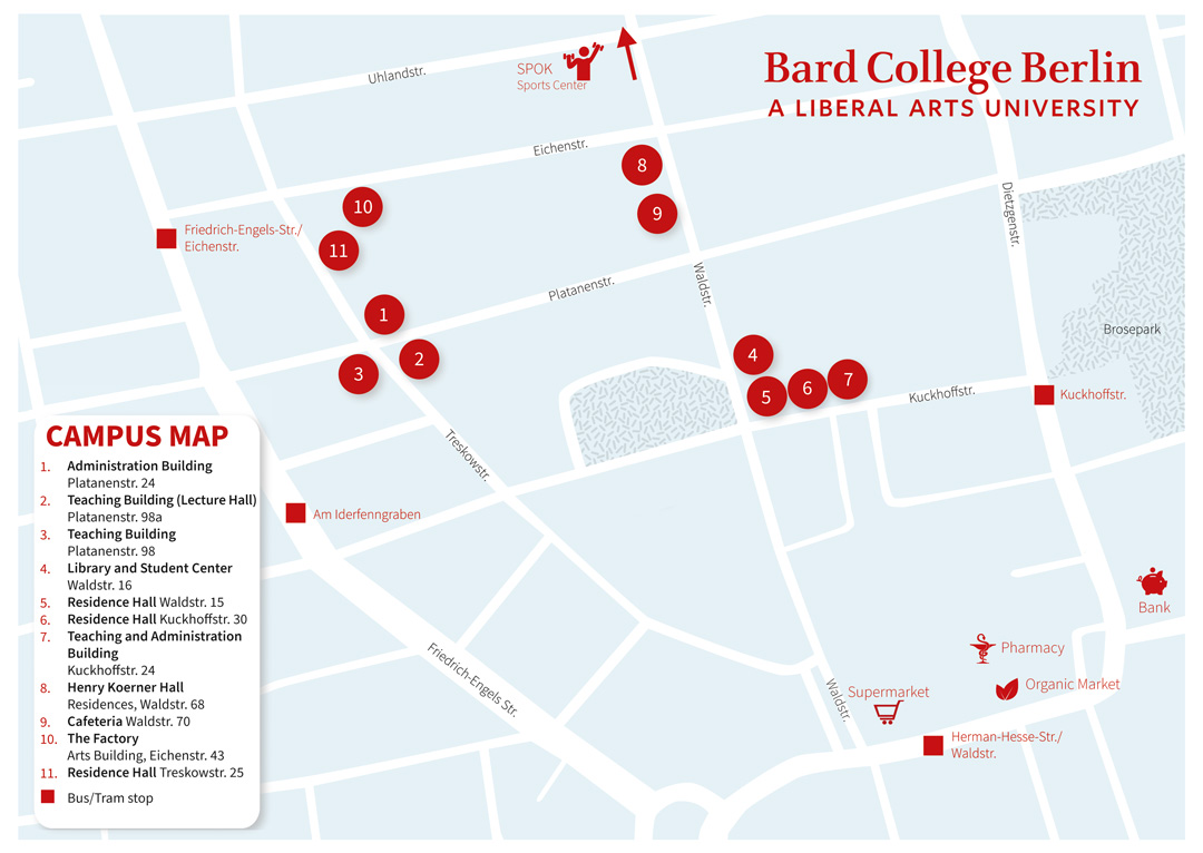Bard College Berlin's campus